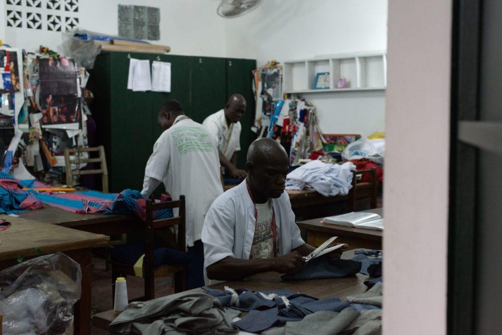 At Work, Abidjan, 2018