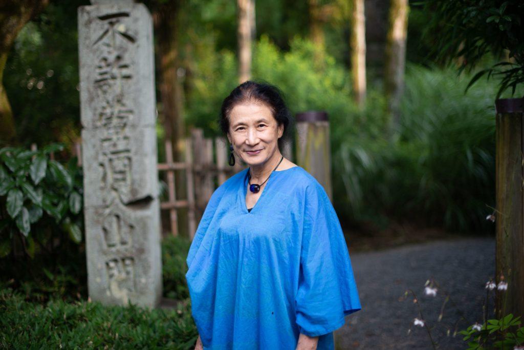 Woman in Blue, Japan, 2016